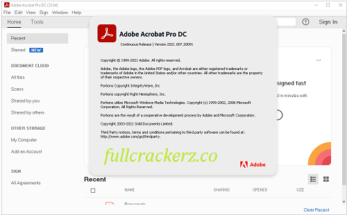Adobe Acrobat Pro DC Crack License Free 2021.013.20064 Download