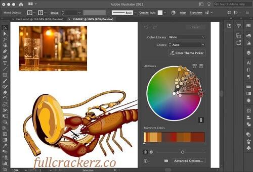 Adobe Illustrator v25.4.1.498 Crack cc - latest version 2022 free download