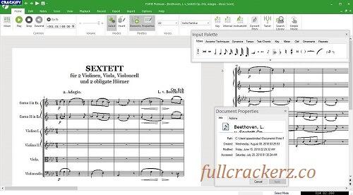 Forte Notation Forte 2021 Premium 12.1.0 Full Crack Free Download