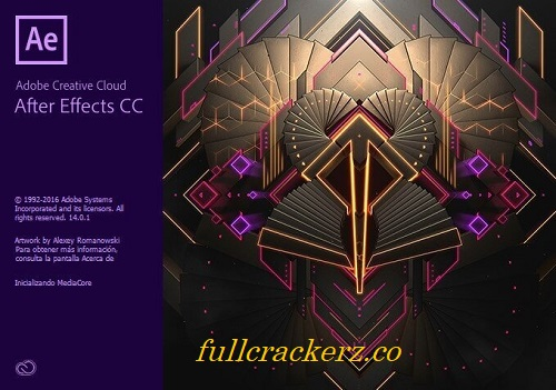 Adobe After Effects CC Crack 2022 v18.4.1.4 - Serial Code Free Download