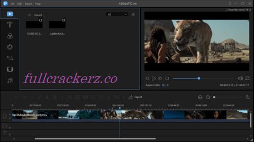 EaseUS Video Editor Crack 1.6.8.52 + Serial Key [Latest] 2022