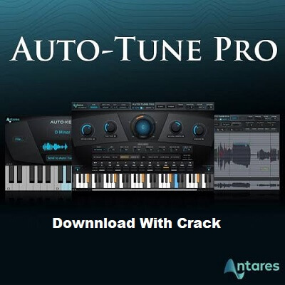 Antares AutoTune Pro 9.1.1 Crack + Serial Key 2021 With VST Free Download