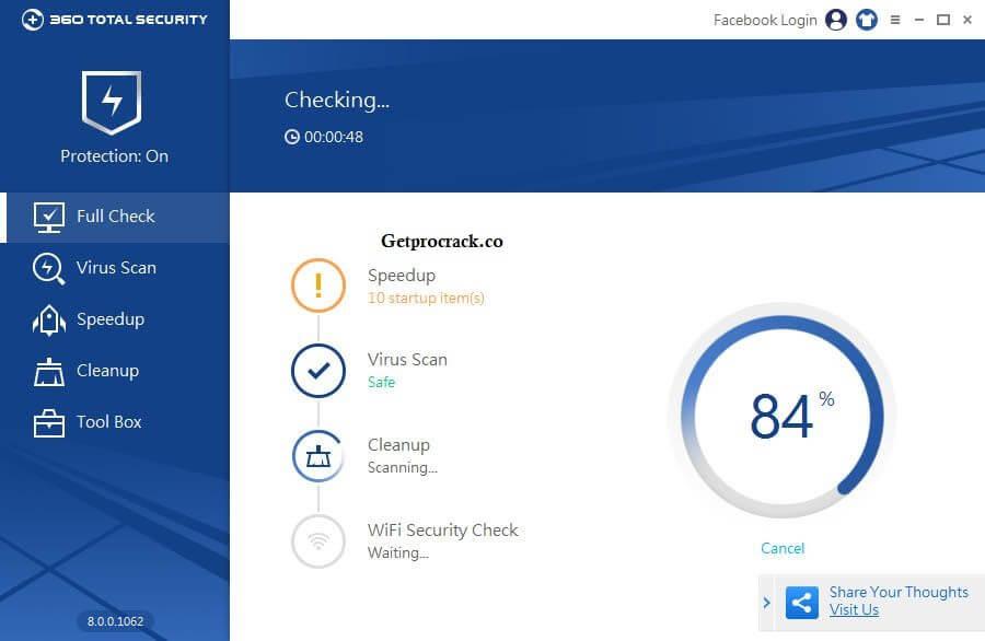 360 Total Security 10.8.0.1324 Full Crack + Patch incl Premium License Key {2021}